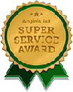 Super Service Award logo