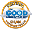 Certified Good contractors list logo